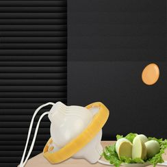 Packov - 厨房矽胶鸡蛋切割器