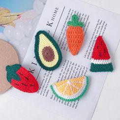 Chichat - 针织水果发夹