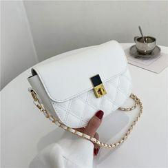 mizandrus - Quilted Flap Crossbody Bag