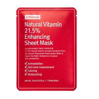 By Wishtrend - Natural Vitamin 21.5% Enhancing Sheet Mask