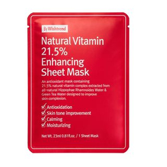 By Wishtrend - Natural Vitamin 21.5% Enhancing Sheet Mask