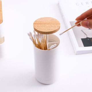 Hashi - Wooden Lid Toothpick Holder