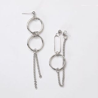 Kokyu - Asymmetrical Drop Earring