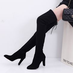 MANMANNI - High Heel Over the Knee Boots