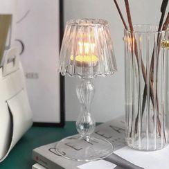 Sheroni - Glass Candle Holder