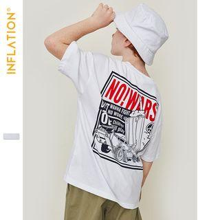 Wolandorf - Kids Overized Printed T-Shirt