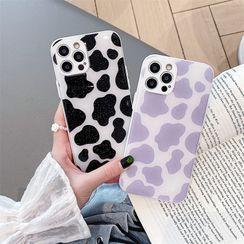 Surono - Milk Cow Phone Case - iPhone 13 Pro Max / 13 Pro / 13 / 13 mini / 12 Pro Max / 12 Pro / 12 / 12 mini / 11 Pro Max / 11 Pro / 11 / SE / XS Max / XS / XR / X / SE 2 / 8 / 8 Plus / 7 / 7 Plus