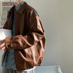 Wolfkane - Faux Leather Shirt Jacket