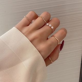 Catharsis - Set of 5: Alloy Ring