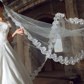 Destine - Lace Wedding Veil