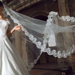 Destine - 蕾丝新娘头纱