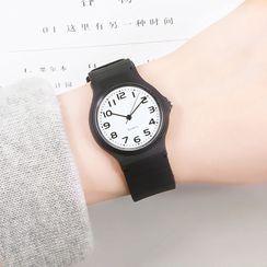 Epoca - Silicone Strap Watch