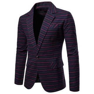 Peibo - Striped Blazer