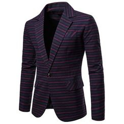 Peibo - Striped Blazer