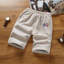 Muore - 纯色运动短裤