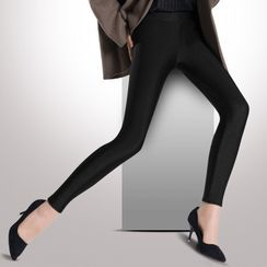 Anyoung - Paneled Leggings