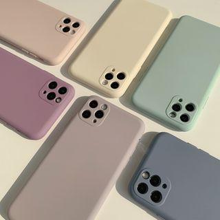 kloudkase - 純色手機保護套 - iPhone 12 Pro Max / 12 Pro / 12 / 12 mini / 11 Pro Max / 11 Pro / 11 / SE / XS Max / XS / XR / X / SE 2 / 8 / 8 Plus / 7 / 7 Plus