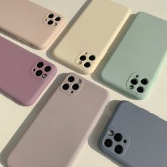 kloudkase - Plain Phone Case - iPhone 12 Pro Max / 12 Pro / 12 / 12 mini / 11 Pro Max / 11 Pro / 11 / SE / XS Max / XS / XR / X / SE 2 / 8 / 8 Plus / 7 / 7 Plus