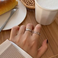 Kokyu - Alloy Open Ring (various designs)