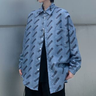 Chisan - All Over Letter Shirt
