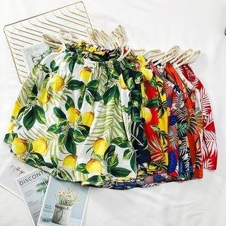 Lemongrass - Printed Halter Top
