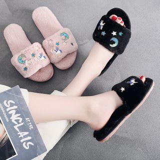 Mayaloka - 仿毛拖鞋