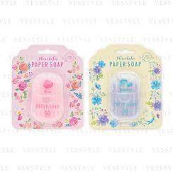 CHARLEY - Fleur La Fee Paper Soap 50 pcs - 2 Types