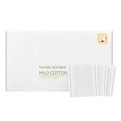 NATURE REPUBLIC - Beauty Tool Natural Mild Cotton Wipe 80pcs
