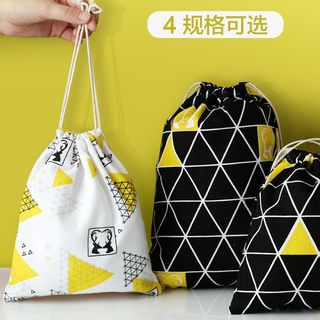 Home Simply - Printed Drawstring Pouch