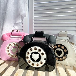 OUCHA - Patent Phone Crossbody Bag