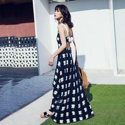 Yuxi - Open Back Maxi Sundress