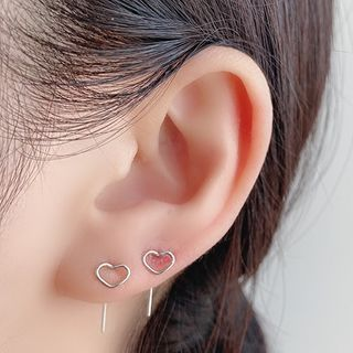 Mimishi - Heart Stud Earring
