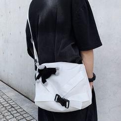 Anna Momo - Plain  Canvas Shoulder Bag