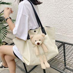 Miloes - Set: Teddy Bear Carryall Bag + Pouch