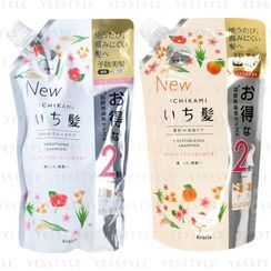 Kracie - Ichikami Shampoo Refill 680ml - 2 Types
