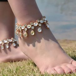 Seirios - Jeweled Anklet
