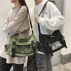 EAVALURE(イーヴァルア) - Buckled Nylon Crossbody Bag