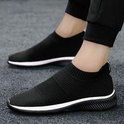 Chaoqi - 彈性布藝輕便鞋