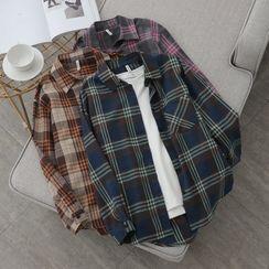 El Poni - 长袖格子衬衫