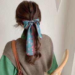 Koi Kawaii - 印花丝质围巾