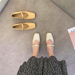 Shoesanna - Square Neck Mary Jane Shoes
