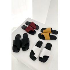 SIMPLY MOOD - Toe-Loop Slide Sandals