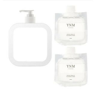 YNM - Gentle Make-Up Cleansing Water Set (2 Refills 240ml + 1 Dispenser)