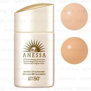 Shiseido - Anessa Perfect UV Sunscreen Skincare BB Foundation SPF 50+ PA++++ - 25ml 2 Types