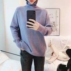 Alpaca - Turtleneck Sweater