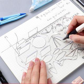 Pecorino - Plastic Drawing Stencil