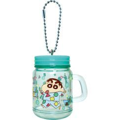 T'S Factory - Crayon Shin-Chan Drinking Jar Key Holder (Green)