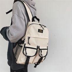Kaffee - Lightweight Buckled Backpack
