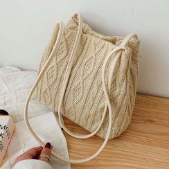 Hydracinthe - 麻花針織手提袋