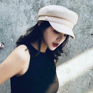 FROME - 饰扣派报童帽